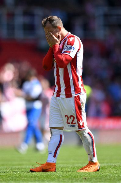 Xherdan Shaqiri Photos Photos Stoke City Vs Crystal Palace Premier League Premier League Matches Stoke City Premier League