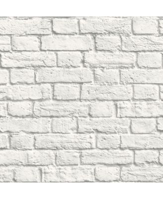 Brewster Home Fashions Cologne Painted Brick Wallpaper 396 White Brick Wallpaper Brick Wallpaper Brick Effect Wallpaper