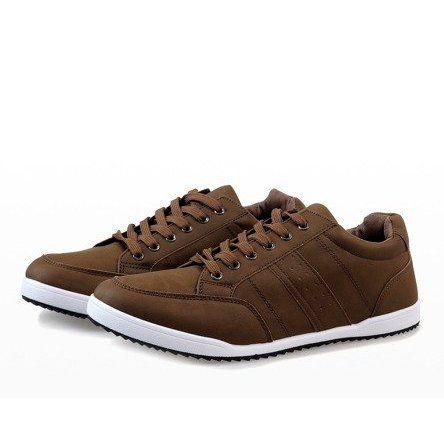 Khaki Meskie Trampki M 616 Sneakers High Top Sneakers Shoes