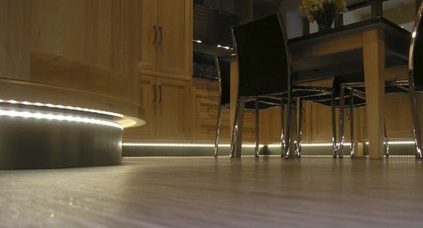 Kitchen plinth Lighting in Kettering Kitchen Showroom - Wittering West Northants | ????????? ????????? | Pinterest | Open plan kitchen diner Kitchen ... : kitchen plinth led lights - azcodes.com