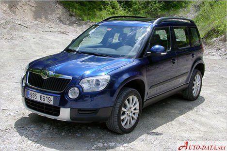Skoda Yeti Car 4x4 Vehicles