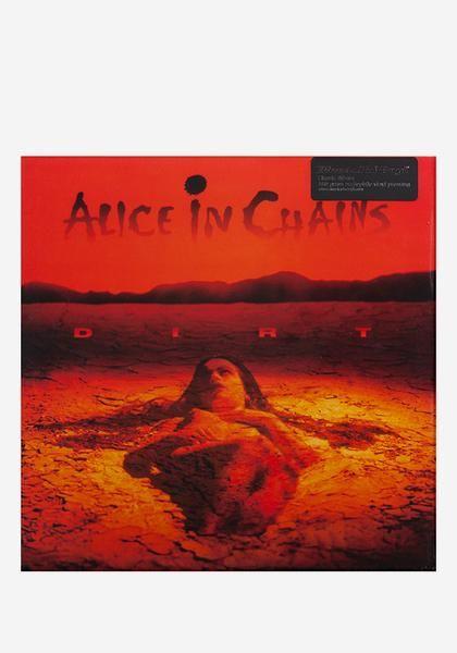 Alice In Chains 'Dirt' 180G LP vinyl record.