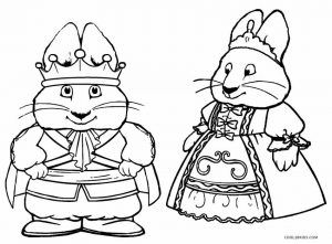 Max And Ruby Coloring Pages Max And Ruby Cartoon Coloring Pages