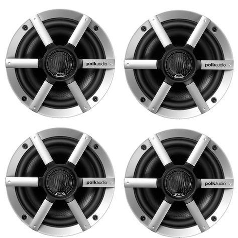 "4 x BRAND NEW MEMPHIS MXA 6.5 INCH CAR BOAT MARINE AUDIO SPEAKERS 6.5/"" WHITE"