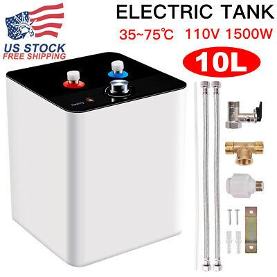 Advertisement 110v 10l Electric Tankless Hot Water Heater Kitchen Bathroom Home 35 75 In 2020 Tankless Hot Water Heater Tankless Water Heater Electric Water Heater