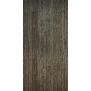 48 In X 8 Ft V Groove Barwood Gray Mdf Wall Panel At Lowes Com Mdf Wall Panels Grey Walls Wall Paneling
