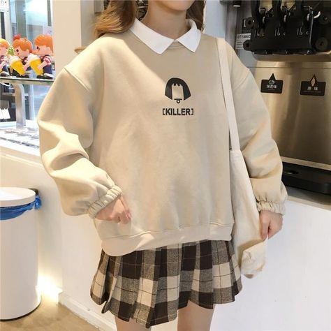 Killer Girl Soft Aesthetic Sweatshirt