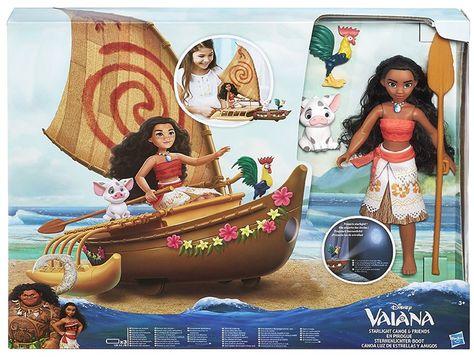 Hasbro Disney Vaiana C0157eu4 Sternenlichter Boot Spielset