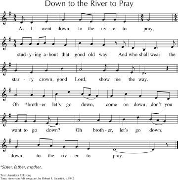lets go down to the river to pray | ~MUSIC - Soundtracks ...