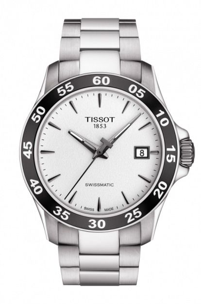 Details About Tissot Men S V8 Chronograph Alpine Stainless Steel