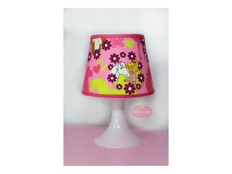 Exklusiv Baumwollstoff Bibi & Tina Flower, rosa - Tiere - im Online-Shop günstig kaufen