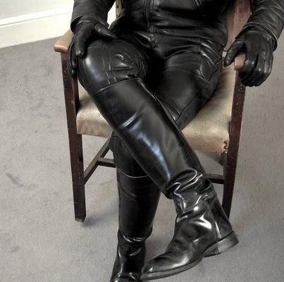 Thigh high boots gay men sex