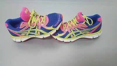 Blue Green Pink Running Shoes