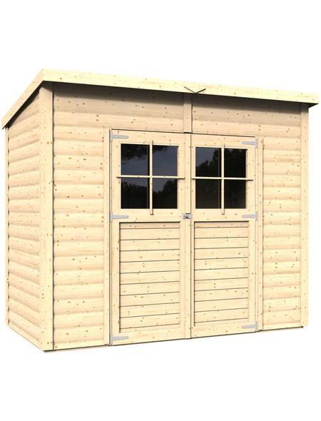Konifera Gartenhaus Alster 2 Bxt 252x137 Cm Inkl Fussboden Gartenhaus Haus Garten
