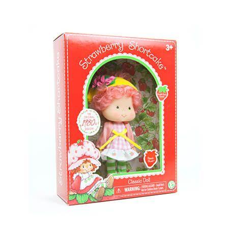 "Basic Fun The Bridge Direct Classic Strawberry Shortcake Doll 6/"""