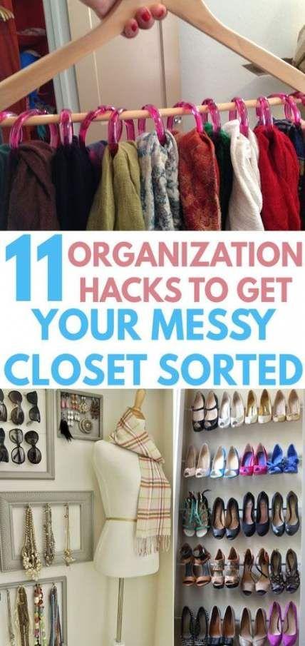 Cheap Clothes Storage Ideas Closet Organization 68 Ideas For 2019