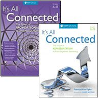 It's All Connected Bundle, $61.12,  provide teachers of mathematics the support they need to improve their instruction. These in-demand resources provide lessons for grades 6-9 that focus on proportional and algebraic reasoning skills that are crucial in the middle school mathematics curriculum.     The lessons feature correlations to the CCSS creative exercises that illustrate key concepts teaching insights reproducible student recording worksheets, and more.