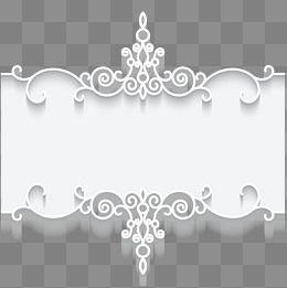 Lace Pattern Border Frame Card Lace Pattern Frame