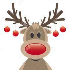 cartoon reindeer bing images christmas pinterest cartoon rh pinterest com au cartoon rudolph face how to draw cartoon reindeer face