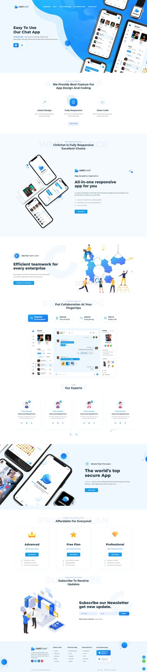 Chitchat — Perfect Chat and Discussion HTML Template