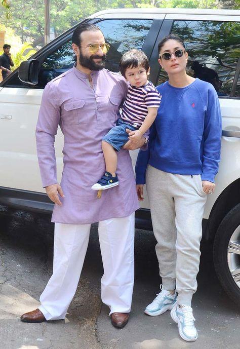 Saif Ali Khan Looked Stylish In A Lilac Kurta That He Wore With White Pyjamas While Kareena K Designer Clothes For Men Saif Ali Khan Kurta Muslim Men Clothing Previous   next view all. saif ali khan kurta