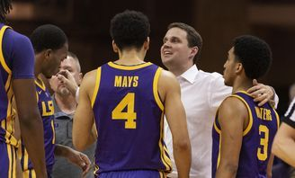 Nationally Ranked And Relevant Lsu Basketball Is Back Under Will Wade Lsu College Basketball Game Lsu Football