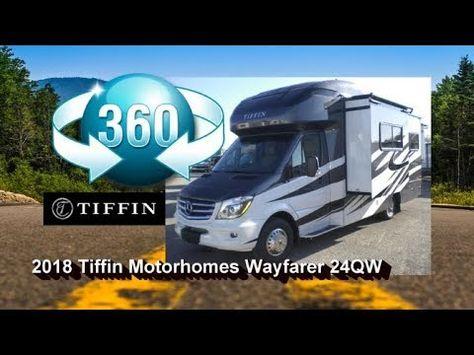 2018 Tiffin Motorhome Wayfarer 24qw 360 View Mount Comfort Rv