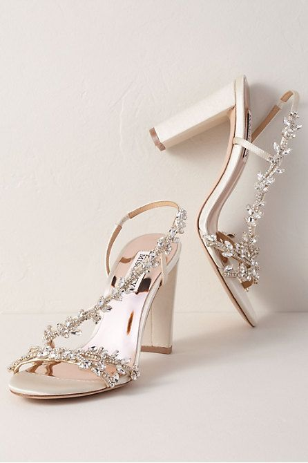 Badgley Mischka Felda Heels In 2020 Wedding Shoes Heels Wedding Shoes Wedding Boots