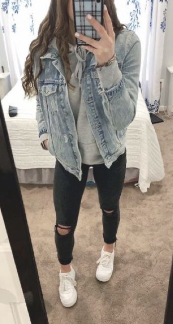 teenager outfits for school cute ~ teenager outfits . teenager outfits for school . teenager outfits for school cute Teenager Outfits, Cute Teen Outfits, Cute Comfy Outfits, Lazy Outfits, Teen Fashion Outfits, Mode Outfits, Stylish Outfits, Stylish Clothes, Fashion Ideas