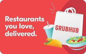 Grubhub Coupon Code In 2020 Virtual Gift Cards Grubhub Gift Card