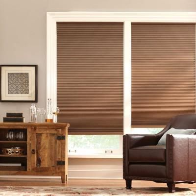 Home Decorators Collection Shadow White 9 16 In Blackout Cordless Cellular Shade 48 In W X 48 In L Actual Size 47 625 In W X 48 In L 10793478636471 T Blackout Cellular Shades Cellular Shades Home Decorators Collection