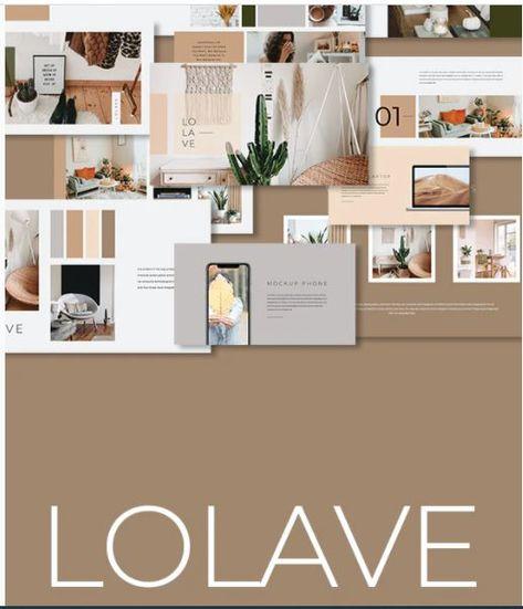 Lolave Presentation Template