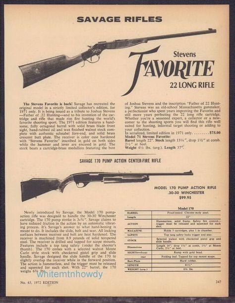 1965 Print Ad of Ruger 10//22 .22 RF Rimfire Self Loader Rifle