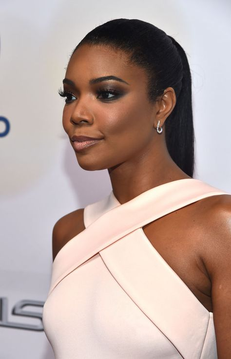 Actress Gabrielle Union attends the NAACP Image Awards presented by TV One at Pasadena Civic Auditorium on February 2015 in Pasadena, California.
