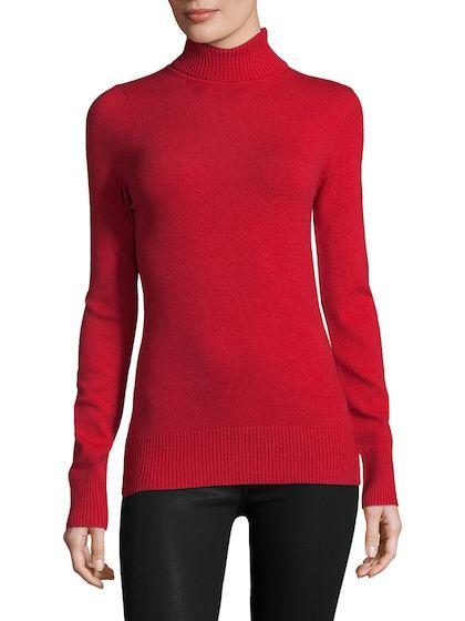 Turtleneck Sweater (With images) | Ladies turtleneck