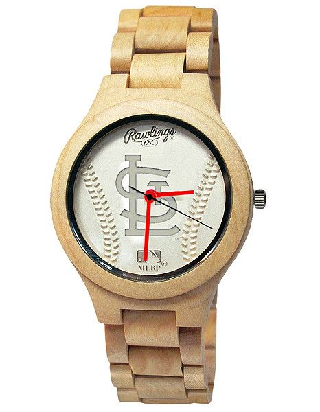 Rawlings Mlb St Louis Cardinals Genuine Maple Wooden Baseball Fan Watch Baseball Fan Baseball Bat Wood Mlb Chicago Cubs