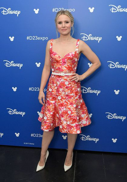 Actor Kristen Bell takes part in Disney's D23 EXPO 2017.
