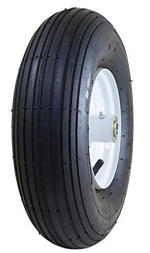 Marathon 4 00 6 Pneumatic Air Filled Tire On Wheel 3 Hub 5 8 Bearings Wheelbarrow Tires Outdoor Umbrella Lights Tire