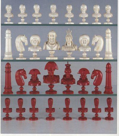 Grosse Sammler Deutsches Schachmuseum Schachspiel Schach Schachfiguren