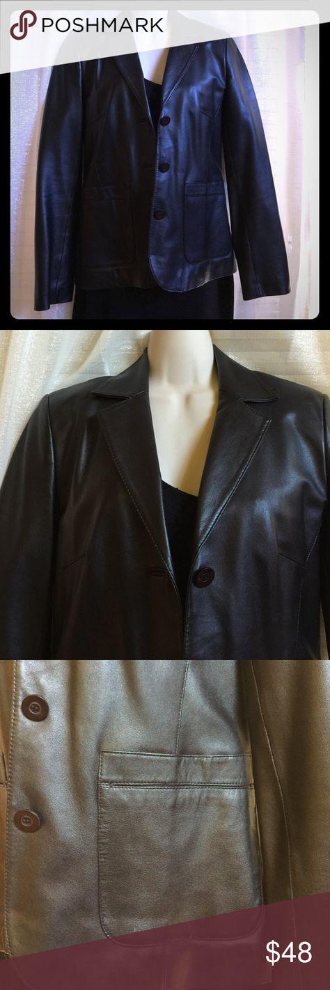 Genuine leather jacket Genuine leather jacket Anonymous Jackets & Coats Blazers