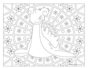 Lapras Pokemon 131 Pokemon Coloring Pages Pokemon Coloring