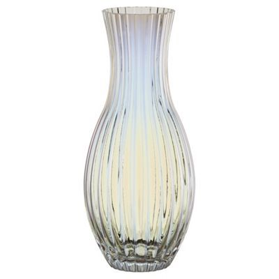 Fox Ivy Lustre Ribbed Vase Home Accessories Living Dining Room Living Room Designs