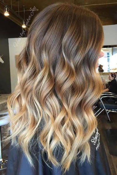 Gorgeous Brown Hairstyles With Blonde Highlights Blonde