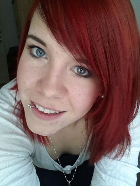 Schwarze färben rot armehoubo: haare Haare rot