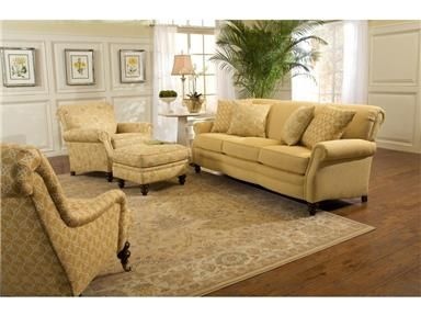 For Smith Brothers Three Cushion Sofa 383 10 And Other Living Room Sofas At Cherry House Furniture In La Grange Ky Fabric Shown 252807 Two 20