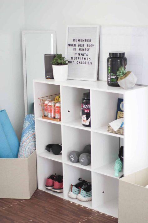 home gym My Home Gym + Play Space On A Budget Joyful Messes