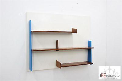 Libreria A Parete Prezzi.Dettagli Su Libreria Da Parete Gio Ponti Gio Ponti Wall Bookcase