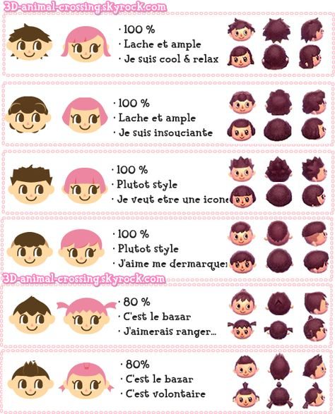 Blog De 3d Animal Crossing Passage D Animaux Animal Crossing Coiffure Animaux