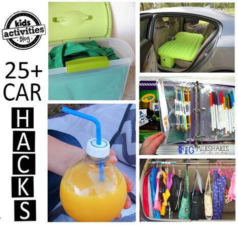 car hacks for families