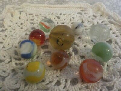 Ad Vintage Playing Marbles 10 Marbles Glass Chipped And Cracked In 2020 Glass Marbles Glass Marble